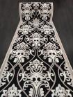 Дорожка ковровая «Лира Блэк 5186-78» 80 см